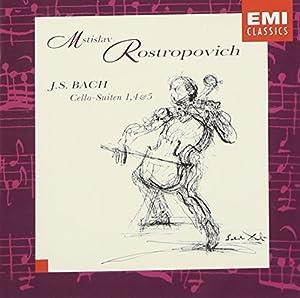 Bach: Cello Suites Nos. 1, 4, 5