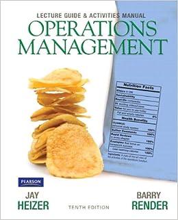 Render operations management heizer pdf
