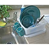 Camco 43511 RV Mini Dish Drainer & Tray