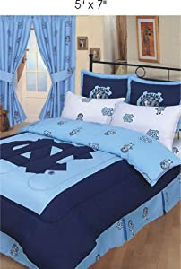 UNC Bed-in-a-Bag with Reversible Comforter - North Carolina Tar Heels - UNC by College Covers