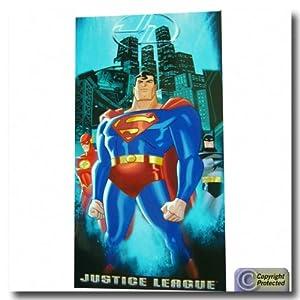 Justice League Bath Beach Towel Superman Towel
