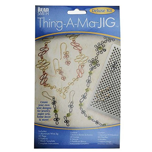 Thing-A-Ma JIG XTL-6066 Deluxe Metal Jewelry Wire Wrap Tool (Wire Wrap Jewelry Making compare prices)
