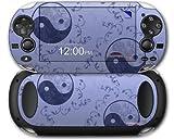 Sony PS Vita Skin Feminine Yin Yang Blue by WraptorSkinz