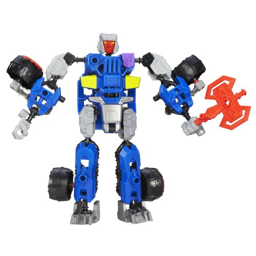 Transformers Construct-Bots Scout Class Decepticon Breakdown Buildable Action Figure - 1