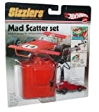 Hot Wheels Sizzlers World Coolest Electric Cars Mad Scatter Set - Red Car