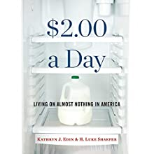 $2.00 a Day: Living on Almost Nothing in America (       UNABRIDGED) by Kathryn Edin, H. Luke Shaefer Narrated by Allyson Johnson