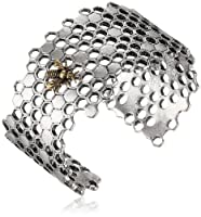 "Lucky Brand ""Mar14 The Bees Knees Nks Brc"" Honeycomb Cuff Bracelet from Lucky Brand"