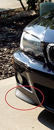 AVT Front Bumper Vinyl e46 BMW M3 01-06 (CSL Carbon Fiber Vinyl Splitters) (E46 Front Bumper compare prices)