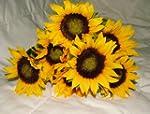 Beautiful Artificial Sunflower Bush w...
