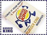 バーガーキング■巾着袋大■ポーチ■小物入れ■BURGER KING/ファッション小物/企業系雑貨
