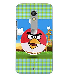 Printdhaba Angry Birds D-4352 Back Case Cover For Motorola Moto X Play