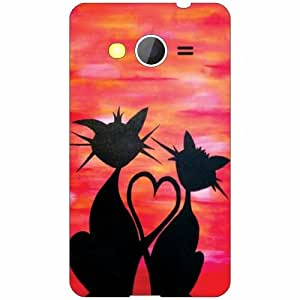 Samsung Galaxy Core 2 Back Cover ( Designer Printed Hard Case)