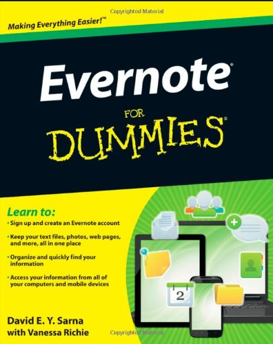 Evernote For Dummies portable digital version ebook free download