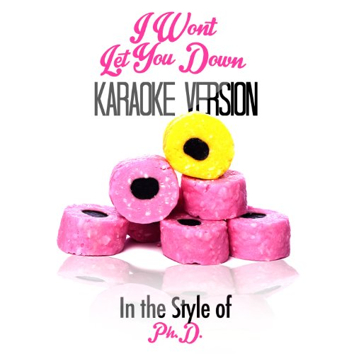 I Won'T Let You Down (In The Style Of Ph.D.) [Karaoke Version]