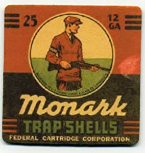 Amazon.com | Monark Shotgun Shell Trap Shooting Coaster