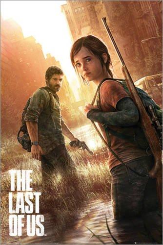 Poster The Last of Us - Key Art - manifesto risparmio, cartellone XXL