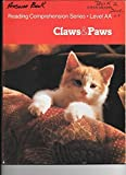 img - for Claws and Paws (Reading Comprehensive Series, Level AA) by Martha K. Resnick (1962-06-03) book / textbook / text book