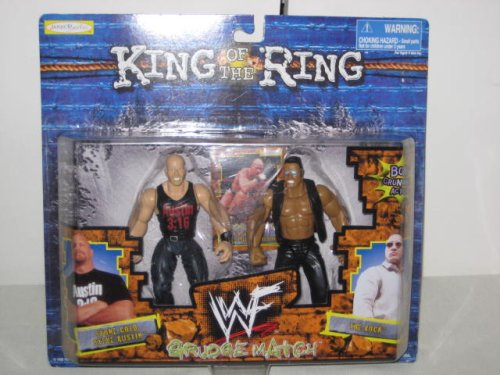 Buy Low Price Jakks Pacific WWF King Of The Ring Grudge Match – Stone Cold / Steve Austin Figure (B001AOG4HS)