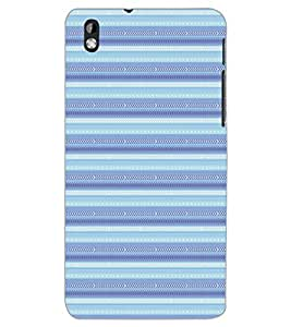 HTC DESIRE 816 PATTERN Back Cover by PRINTSWAG
