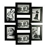 OM Arts Wooden Collage Photo Frame Sweet Long Lasting Memories (23 Cm X 24 Cm X 2.5 Cm, 124215)