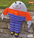 Huggable Humpty Dumpty Toy Knitting Pattern: Masurements height 42cm (Woman's Weekly Magazine Pull Out Pattern)