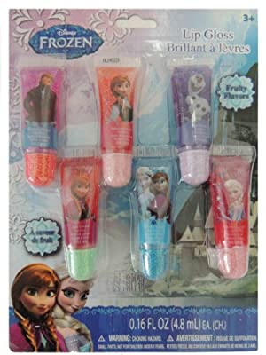 Best Cheap Deal for Frozen Lip Gloss Tubes, 6 Count from Frozen - Free 2 Day Shipping Available