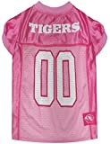 Pets First Collegiate Missouri Tigers Dog Jersey, Small, Pink