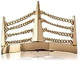 Kitsch Chain Bun Pin, Gold, 0.1 Ounce