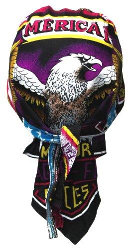 Bac 118-Bandana Cap/American Eagle