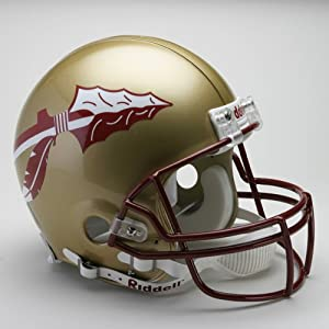 FLORIDA STATE SEMINOLES NCAA Riddell VSR-4 ProLine AUTHENTIC Football Helmet FSU by ON-FIELD