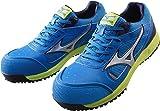 ミズノ 安全靴 MIZUNO ワークシューズオールマイティ C1GA1600 24 ブルー×シルバー×ネイビー 27.0cm