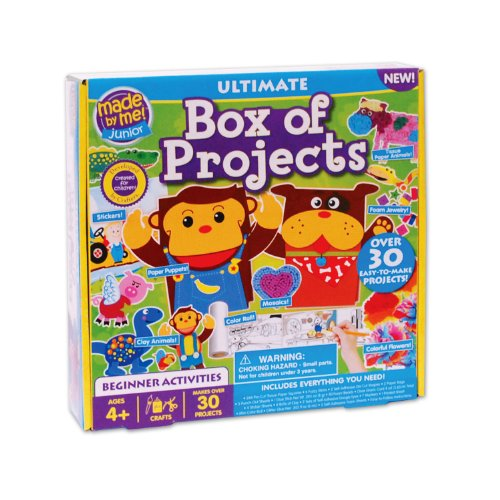 Made By Me Junior Ultimate Box of Projects - Over 30 Projects Included - 1