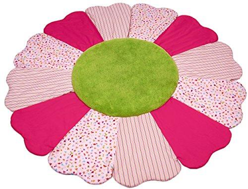 Kathe Kruse In The Garden Patchwork Blanket, Flower