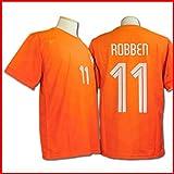 サッカーユニフォーム 【2014モデル】 ◆オランダ代表 ◆ アリエン・ロッベン 背番号11 ◆レプリカサッカーユニフォーム ◆大人用