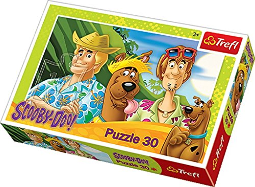 Trefl Scooby Doo On Vacation Puzzle (30 Pieces)