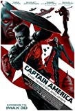 "CAPTAIN AMERICA: THE WINTER SOLDIER - 13.5""x19"" Original Promo Movie Poster 2014 MINT Rare Imax Version Marvel"