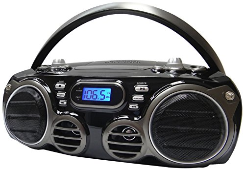 Buy Bargain Sylvania Portable Bluetooth CD Radio BoomBox, Black