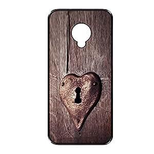 Vibhar printed case back cover for Samsung Galaxy S4 Mini HeartLock