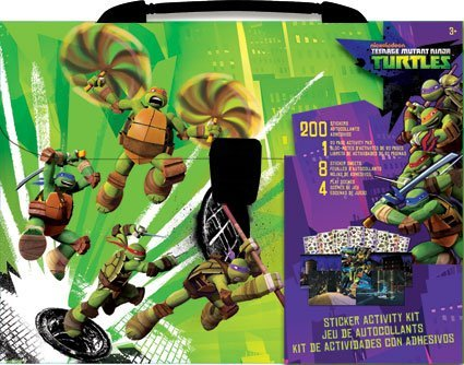 Teenage Mutant Ninja Turtles Sticker Activity Kit