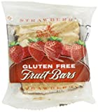 Betty Lou's Strawberry Fruit Bar Gluten Free, 2-Ounce Packages (Pack of 12)