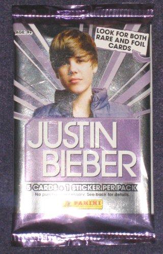 justin bieber cards. Justin Bieber 5 Cards and 1