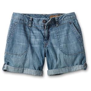 Lightweight Convertible Denim Short