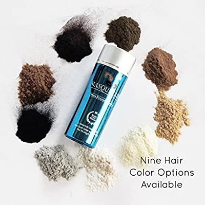 Masquerade Keratin Protein Hair Building Fibers Give Men and Women a Full Thicker Looking Head of Hair .25g/.88oz Bottle (Available in 9 Colors)