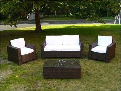 Poly-Rattan Gartenmöbel Garnitur von D&S Vertriebs GmbH auf Gartenmöbel von Du und Dein Garten