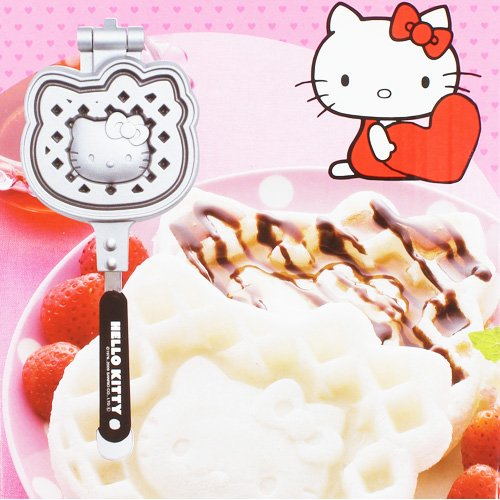 Hello-Kitty-Carus-eats-cake-waffle-maker-series