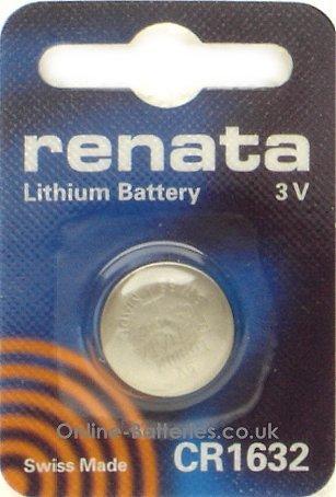 Renata 1632 Lot de 10
