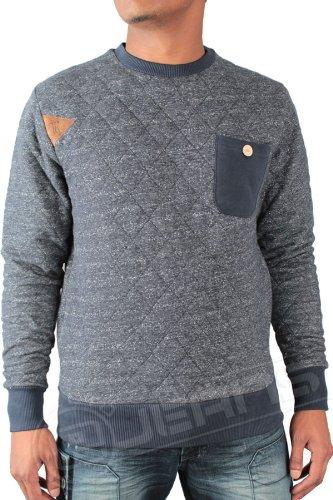 ETO Jeans New Mens Designer Sweatshirt EST113 All Sizes (M, Navy)