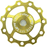 Lerway AEST Aluminium Jockey Wheel Rear Derailleur Pulley SHIMANO SRAM 11T Golden