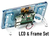 "7""LCD+フレーム ラズベリーパイ 公式 7インチ タッチスクリーン ディスプレイ Raspberry Pi Official 7"" Touch Screen LCD(Blue)"