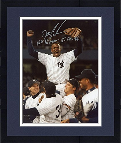 Framed Doc Gooden New York Yankees Autographed 8'' X 10'' Shoulders Photograph With No Hitter 5-14-96 Inscription - Fanatics Authentic Certified